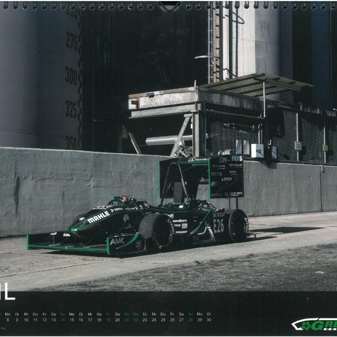 Greenteam Jahreskalender April 2019