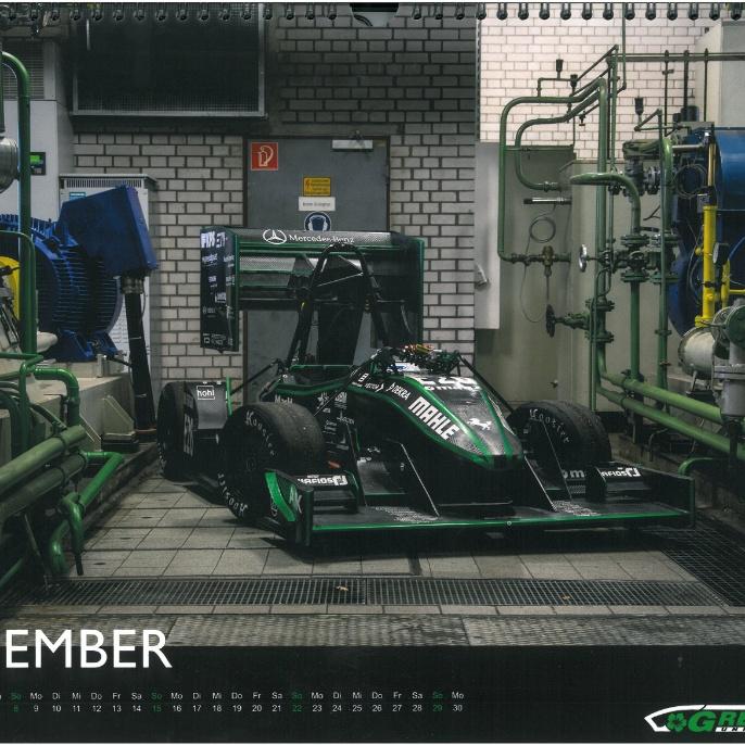 Greenteam Jahreskalender September 2019