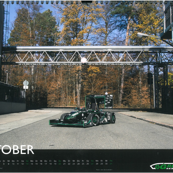 Greenteam Jahreskalender Oktober 2019